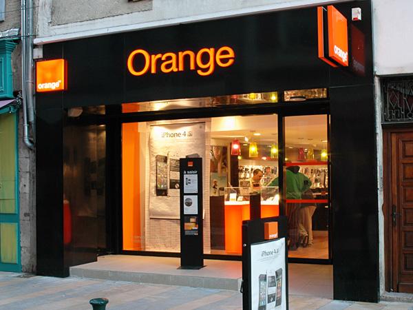 Iphone S Boutique Orange