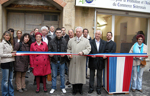 Inauguration local APACS