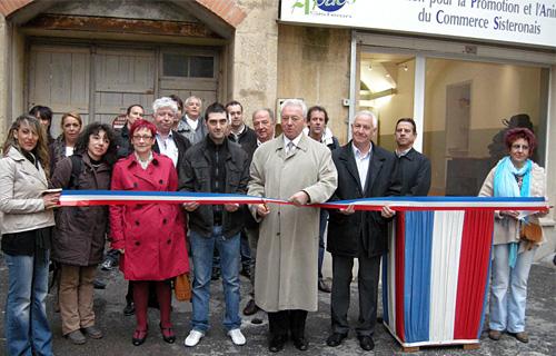 Inauguration local APACS