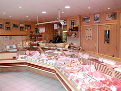 Boucherie Colette et Manuel interieur avant