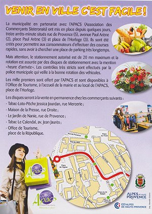 Sisteron commerces association de commerce boutique et magasin sisteron - Police municipale salon de provence ...